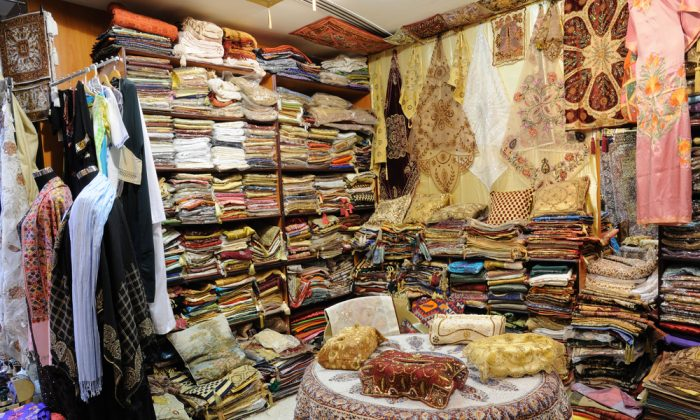 Shop with Traditional Arabic Products in Dubai, United Arab Emirates. (*Shutterstock)