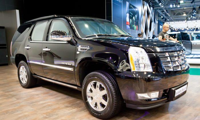 Black Cadillac Escalade (Shutterstock*)