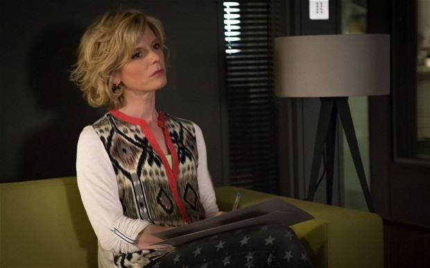 "Emilia Fox as Dr. Nikki Alexander in BBC One's ""Silent Witness."" (BBC)"