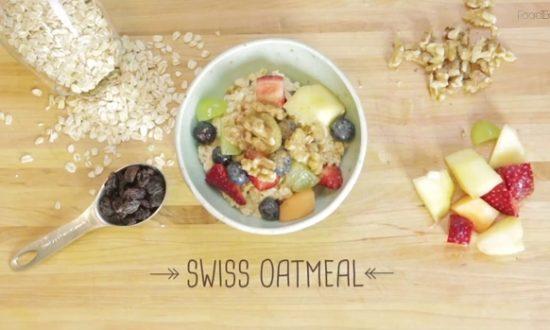 How to Make: Swiss Oatmeal
