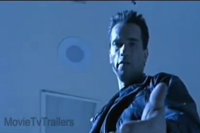 "A scene from ""Terminator 2,"" shown in a trailer for the film. (Screenshot/MovieTVTrailers/YouTube)"