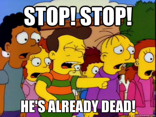 """""""How I fel watching the Super Bowl after the 3rd quarter"""" A meme uploaded to reddit (http://www.reddit.com/user/Babysealkllr)"""