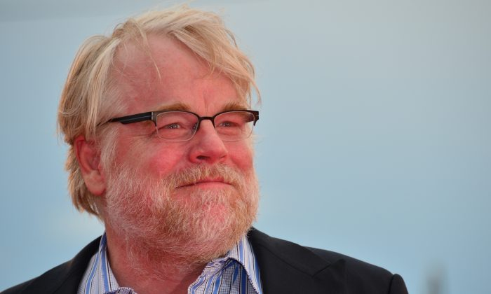 Actor Philip Seymour Hoffman at the screening of 'The Master' during the 69th Venice Film Festival at Venice Lido, Italy on Sept. 1, 2012. (GABRIEL BOUYS/AFP/GettyImages)