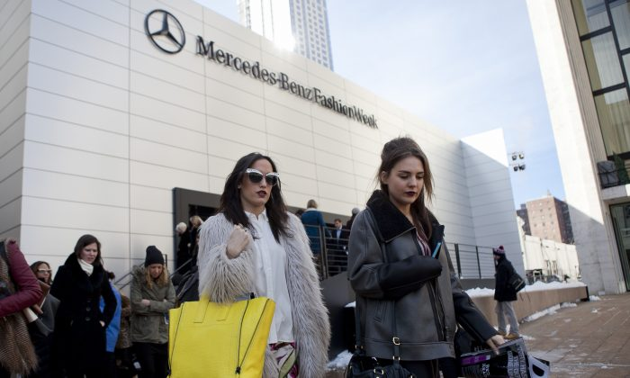 New York Fashion Week, Feb. 6, 2014. (SamiraBouaou/EpochTimes)