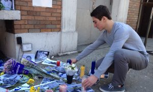 New York Ukrainian Youth Remember Lives Lost in Kyiv