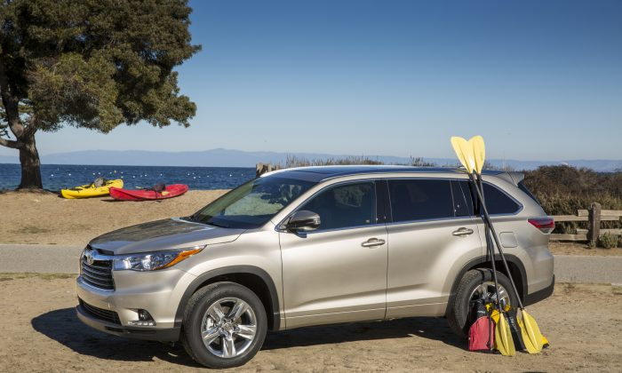 2014 Toyota Highlander (Courtesy of Toyota)