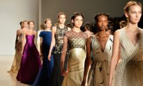 Lela Rose: A Waft of Unearthly Lightness in Silk Robes