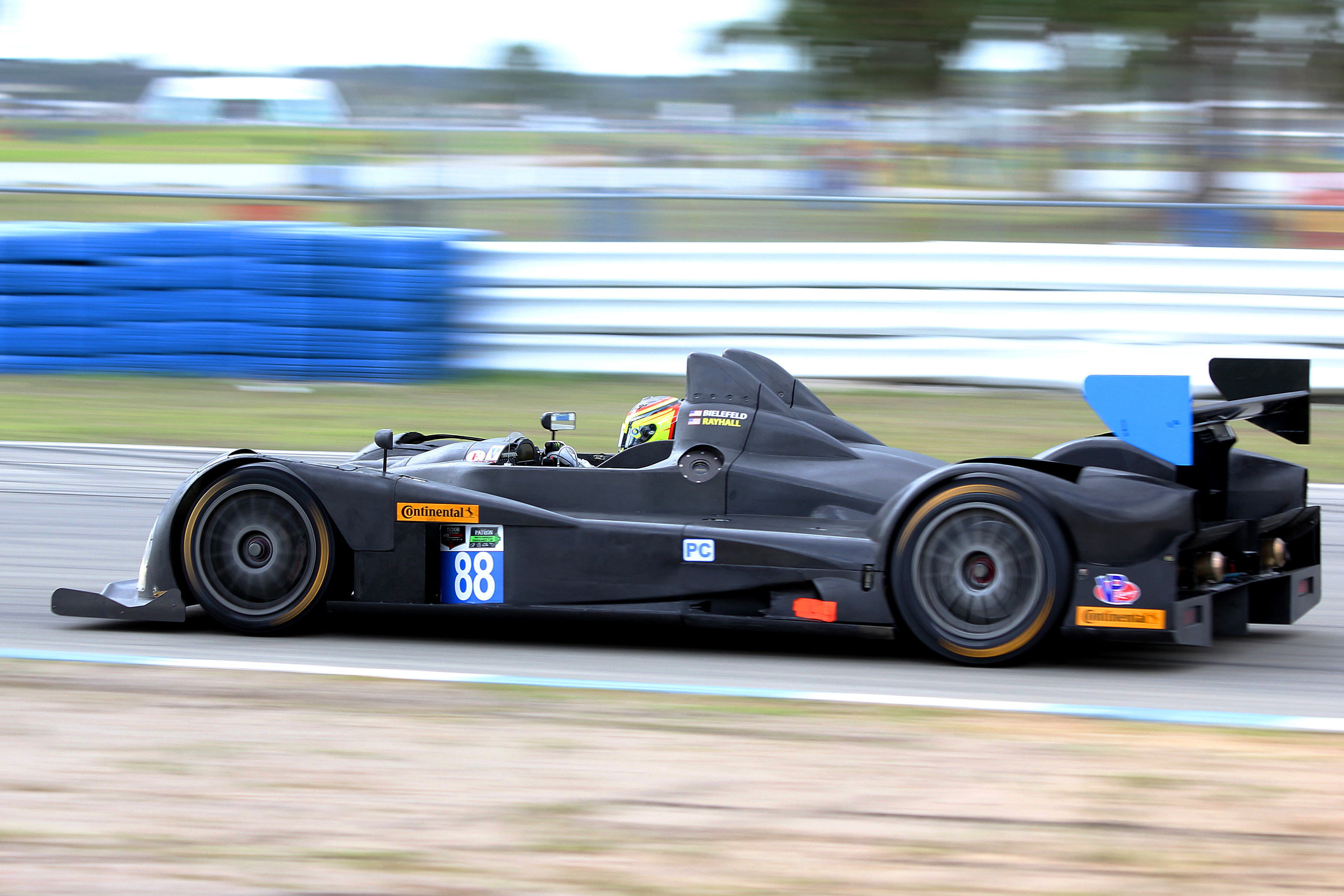 The #88 Bar1 Motorsports Oreca-Chevrolet was quickest in the PC class Friday morning. (Chris Jasurek/Epoch Times)