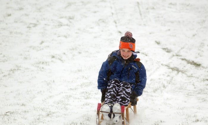 A number of snow storms have led schools to declare snow days. (AP Photo/The Oregonian, Beth Nakamura)