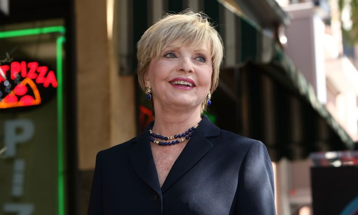 Florence Henderson in a 2008 file photo, just turned 80 years old. She played Carol Brady in the Brady Bunch. (Alberto E. Rodriguez/Getty Images)