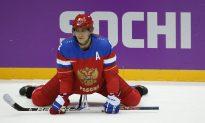 Ovechkin Injured at World Championships