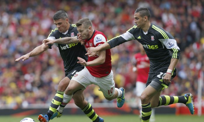 Stoke City vs Arsenal Barclays Premier League: Game Time, TV Channel, Date, Watch Livestream