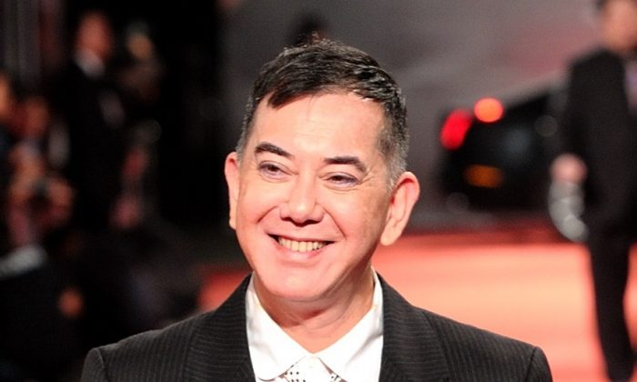 Famous Hong Kong actor Anthony Wong, on Sept. 12, 2012 (Epoch Times)