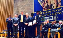EMT Workers Who Helped Wounded Cop Honored
