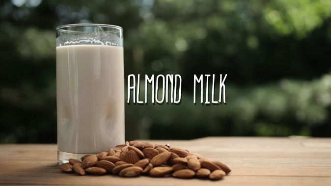 Almond milk is super easy to make, cheaper than store-bought, and you can add any flavors you want. (Courtesy of Food Ease)
