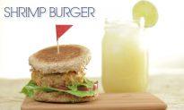 How to Make: Shrimp Burger (+Video)