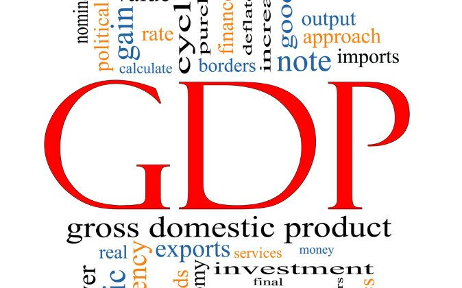 Gross Domestic Product and some of the factors influencing it. (Shutterstock*)