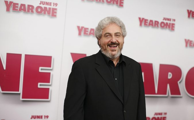 "Director Harold Ramis arrives for the world premiere of ""Year One"" at Lincoln Square Monday, June 15, 2009 in New York. (AP Photo/Jason DeCrow)"