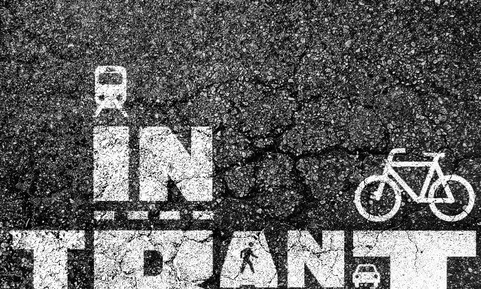 """""""In Transit"""" film logo. (Courtesy of Todd Drezner)"""