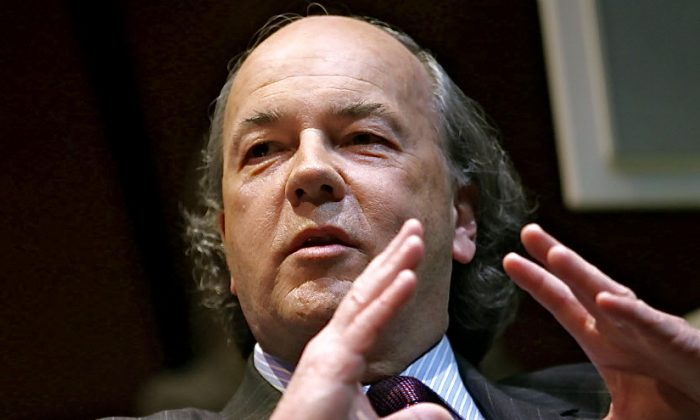 """James Rickards, lawyer, economist, investment banker, and author of the """"Death of Money""""(Courtesy of James Rickards)"""