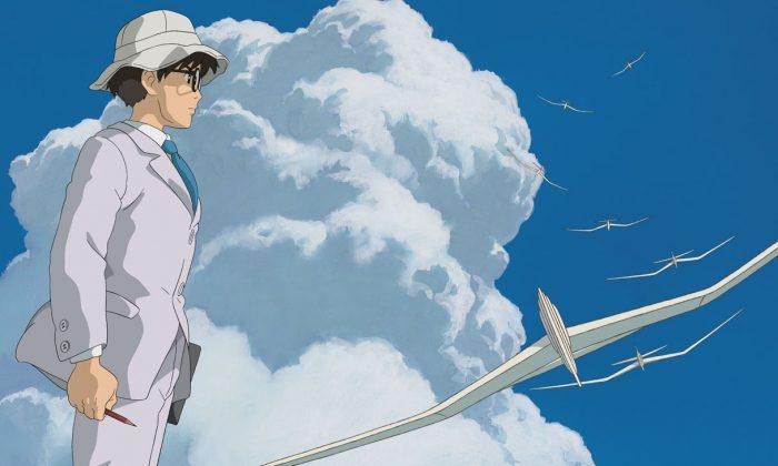 "A scene from Hayao Miyazaki's farewell film, ""The Wind Rises."" (Walt Disney)"