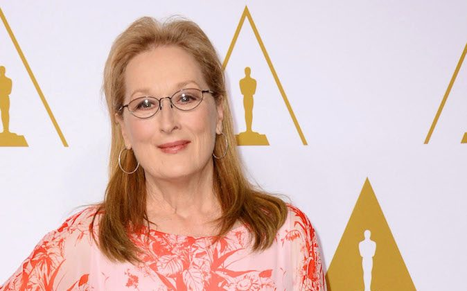 Meryl Streep arrives at the 86th Oscars Nominees Luncheon on Monday, Feb., 10, 2014 in Beverly Hills, Calif. (Photo by Jordan Strauss/Invision/AP)