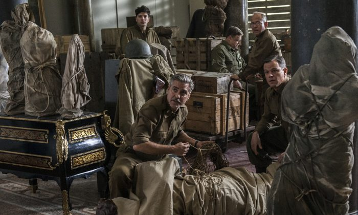 "A scene from ""The Monuments Men."" (AP Photo/Columbia Pictures, Claudette Barius)"