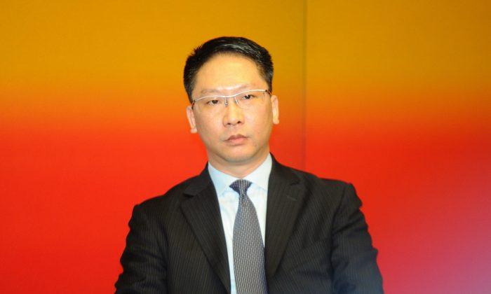 Secretary for Justice of Hong Kong Rimsky Yuen Kwok-keun on Jun 28, 2012
