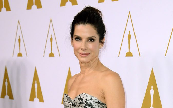 Sandra Bullock arrives at the 86th Oscars Nominees Luncheon on Monday, Feb., 10, 2014 in Beverly Hills, Calif. (Photo by Jordan Strauss/Invision/AP)