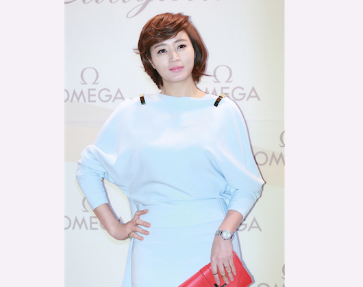 South Korea's top actress Kim Hye-soo attends Shen Yun International Company's performance at Gwacheon Citizen Hall on Feb. 11, 2014. (Quan Yu/Epoch Times)