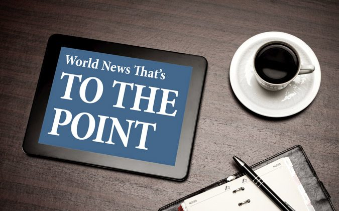 World News to the Point: Feb. 19, 2014. (Photos.com)