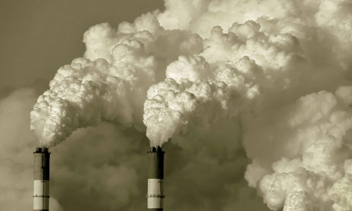 Smoke stacks in Moscow, Russia. (Shutterstock*)