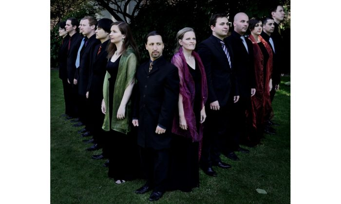Belgian vocal ensemble Vox Luminis, who appeared as part of Cadogan Hall's Choral series (Ola Renska)