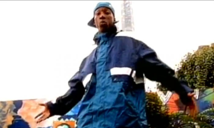 "A YouTube screenshot shows Big L in the ""Put It On"" video"