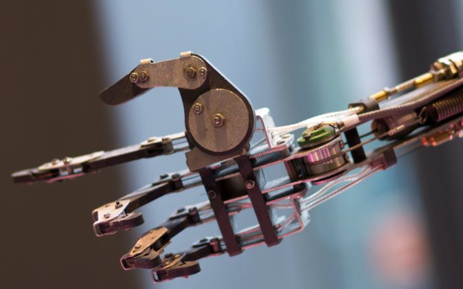 A file photo of a bionic hand. (Shutterstock*)