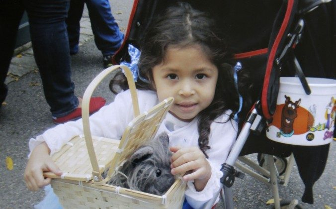 Ariel Russo, a 4-year-old girl killed in a car accident on June 4, 2013. (AP Photo/Russo Family)