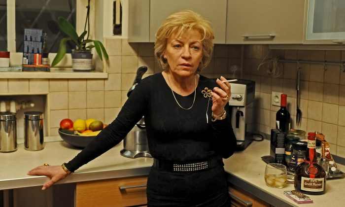 Luminita Gheorghiu as Cornelia in 'Child's Pose,' Romania's entry for Best Foreign Language Film for the upcoming Oscars. (Courtesy of Zeitgeist Films)
