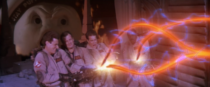 """DON'T CROSS THE STREAMS!"" (Ghostbusters Wikia)"