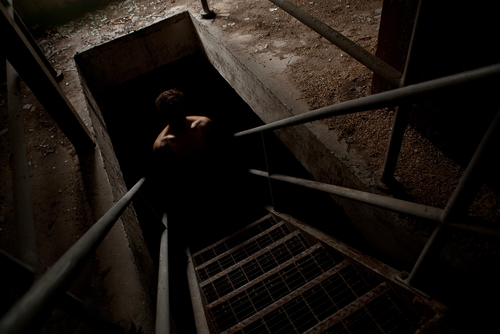 A concept photo of a haunted basement. Latoya Ammons believes the basement of her Gary, Ind., home was the point from which demons who possessed her and her family were emanating. Some police reports show evidence to support the claim. (Shutterstock*)