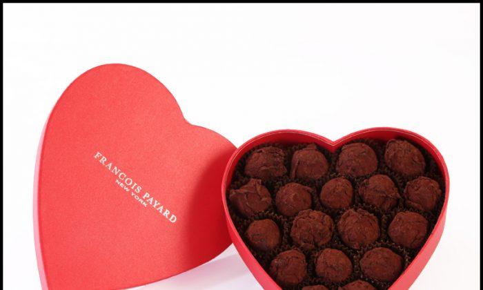 Valentine's Day Truffles. (Courtesy of Payard)