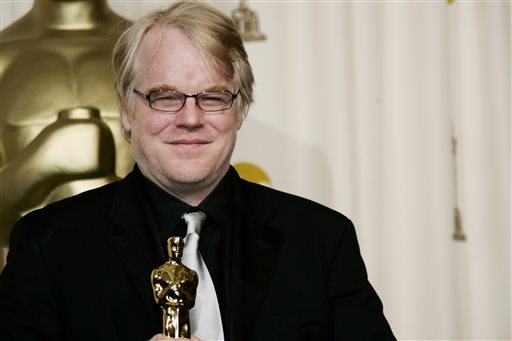 """In a Sunday, March 5, 2006, file photo, actor Philip Seymour Hoffman poses with the Oscar he won for best actor for his work in """"Capote"""" at the 78th Academy Awards, in Los Angeles. Police say  Hoffman has been found dead in his apartment. Sunday Feb. 2014. (AP Photo/Kevork Djansezian, File)"""