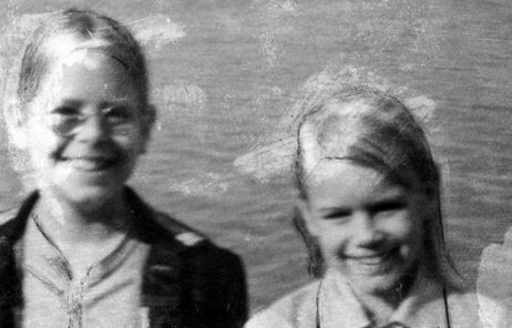 Sheila Lyon and Katherine Lyon in an undated family photo. The sisters went missing in 1975.