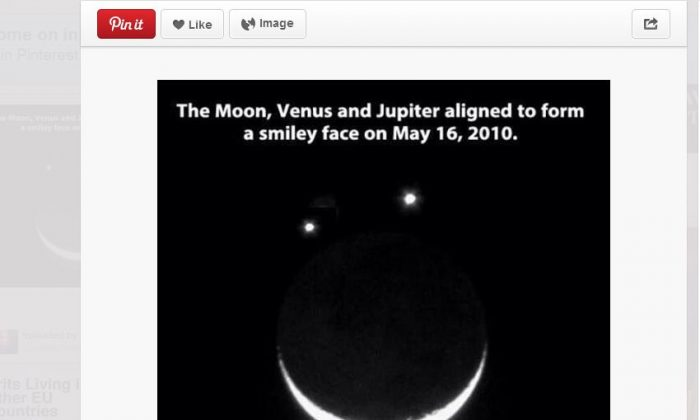 A screenshot of Pinterest shows the image.
