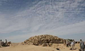 Egypt Pyramid Uncovered: Step Pyramid Dates Back 4,600 Years