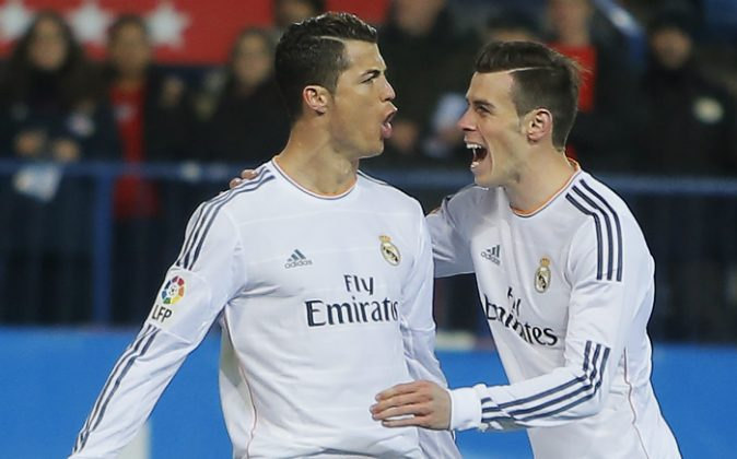 Will Cristiano Ronaldo and Gareth Bale lead Real Madrid to the quarter finals? (AP Photo/Andres Kudacki)