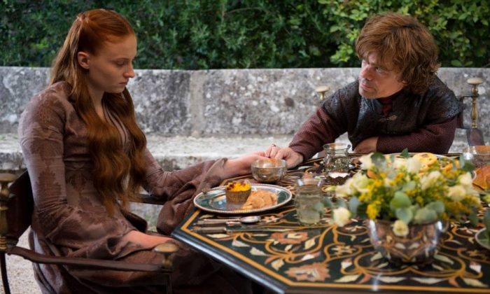 Sansa Stark and Tyrion Lannister. (HBO)