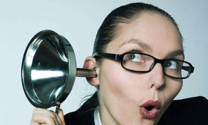 Getting an earful (Shutterstock*)