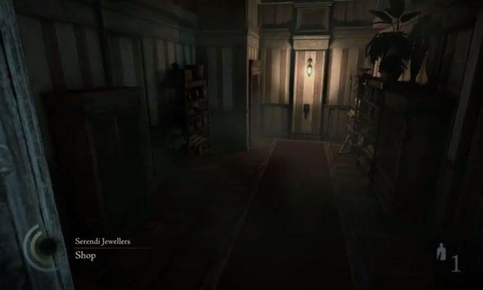 The 'Thief' reboot game's gameplay ('Thief YouTube screenshot)