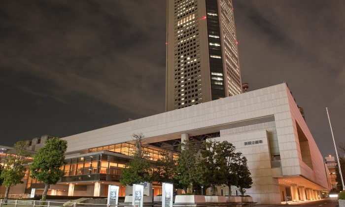 New National Theatre Playhouse, in Tokyo. (Epoch Times)