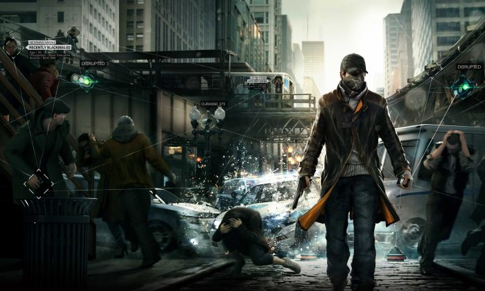 """A scene from the """"Watch Dogs"""" video game. (Ubisoft)"""